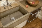Concrete Country Kitchen Sink