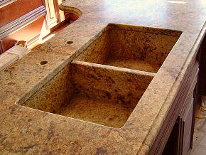 Integrated Granite Sink